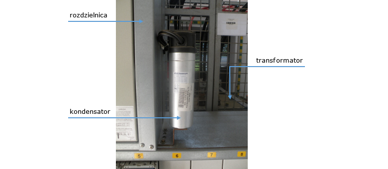 podłączenie transformatora suchego